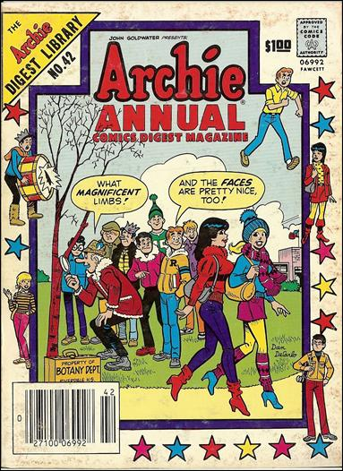 Archie Annual Digest Magazine 42-A by Archie