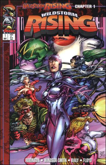 WildStorm Rising 1-A by Image