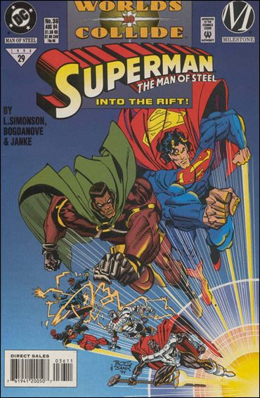 Superman: The Man of Steel 36-A by DC