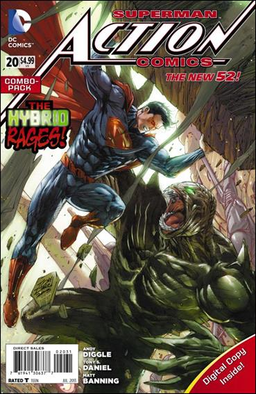 Action Comics (2011) 20-B by DC