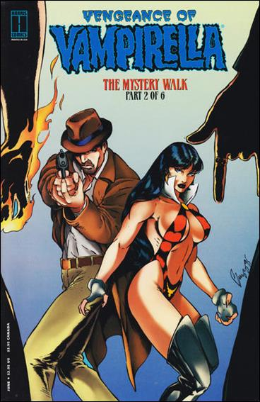Vengeance of Vampirella 15-B by Harris