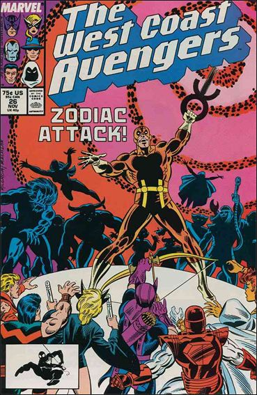 West Coast Avengers (1985) 26-A by Marvel