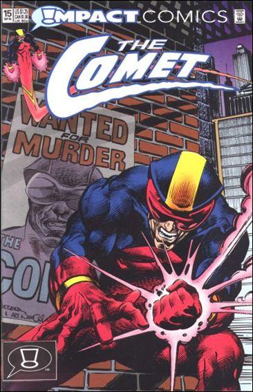 Comet (1991) 15-A by Impact Comics
