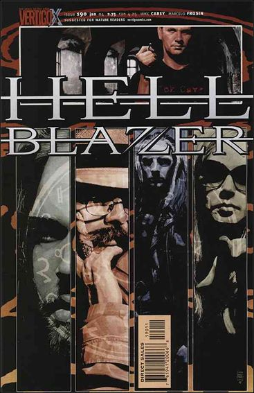 Hellblazer 190-A by Vertigo