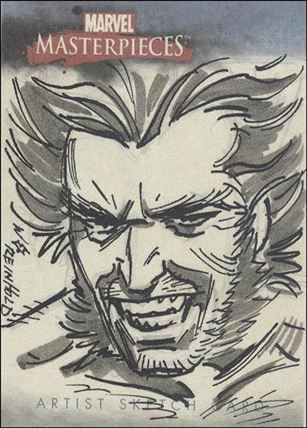 2007 Marvel Masterpieces (Sketch Card Subset) BR-A