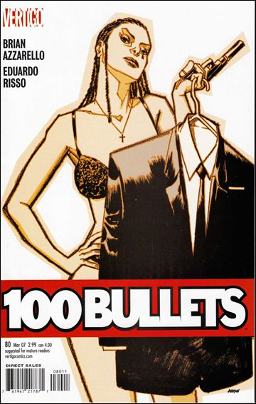 100 Bullets 80-A by Vertigo