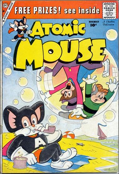 Atomic Mouse (1953) 33-A by Charlton