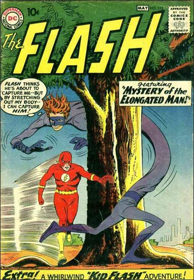 Flash (1959) 112-A by DC
