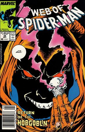Web of Spider-Man (1985) 38-A