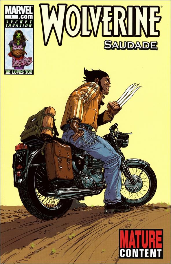 Wolverine: Saudade 1-A by Marvel
