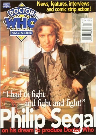 Doctor Who Magazine 240-A by Marvel UK