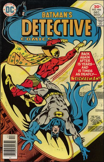 Detective Comics (1937) 466-A by DC