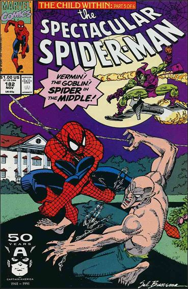 Spectacular Spider-Man (1976) 182-A by Marvel