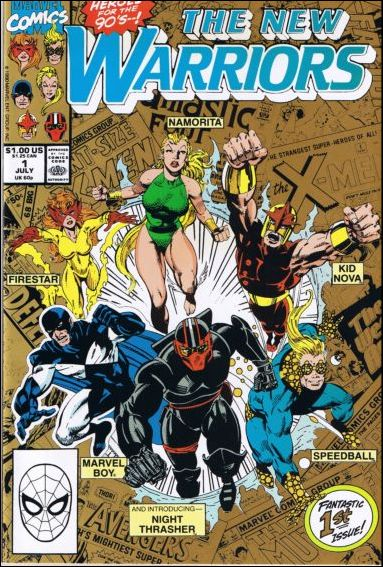 New Warriors (1990) 1-B by Marvel
