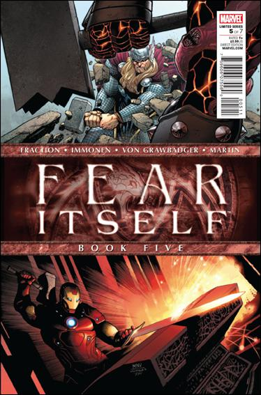 Fear Itself 5-A by Marvel