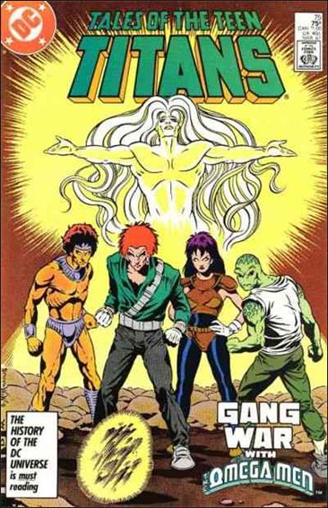 Tales of the Teen Titans 75-A by DC