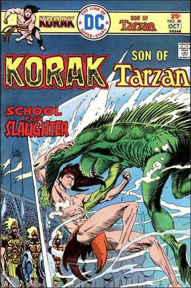 Korak, Son of Tarzan 59-A by DC