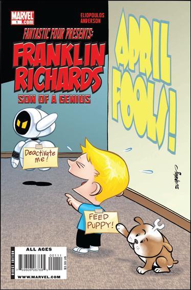 Franklin Richards: April Fools 1-A by Marvel