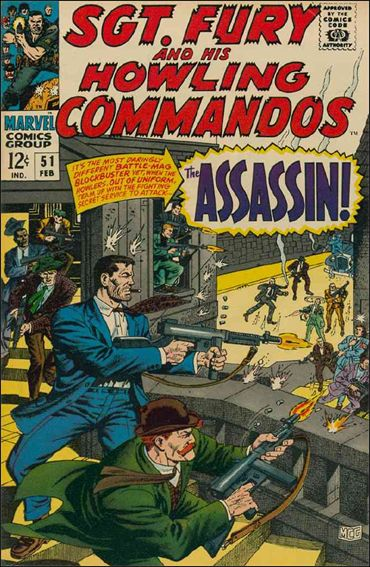 Sgt. Fury and His Howling Commandos 51-A by Marvel
