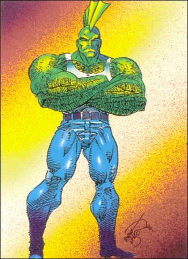 Savage Dragon (Base Set) 6-A by Comic Images