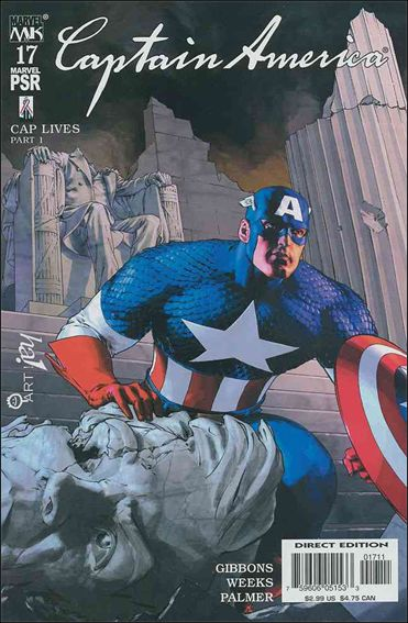 Captain America (2002) 17-A by Marvel