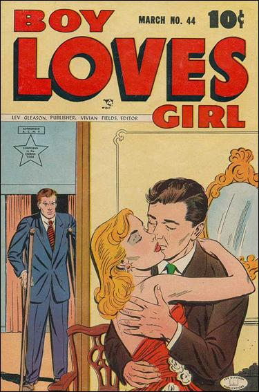 Boy Loves Girl 44-A by Lev Gleason Productions