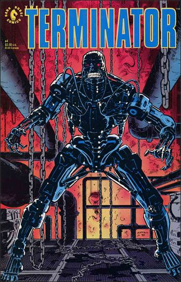 Terminator (1990) 4-A by Dark Horse