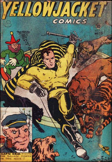 Yellowjacket Comics 10-A by Frank