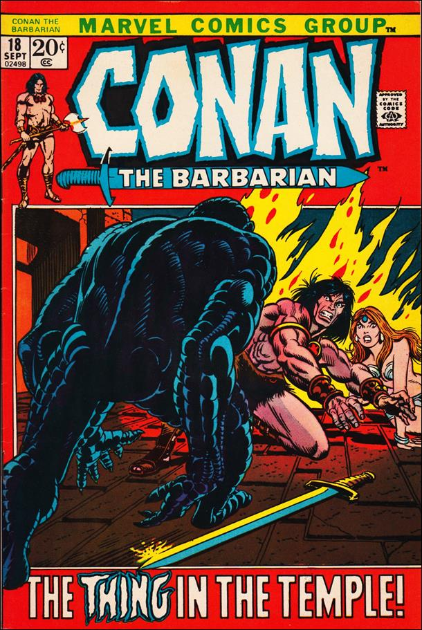 Conan the Barbarian (1970) 18-A by Marvel