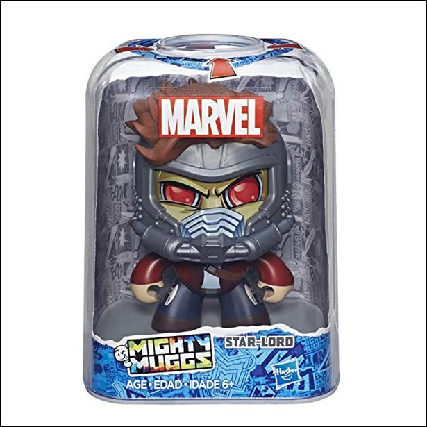 Marvel Mighty Muggs Wave 3 Star-Lord by Hasbro