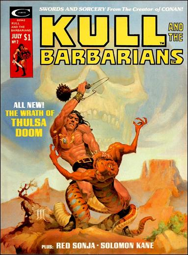 Kull and the Barbarians 2-A by Marvel
