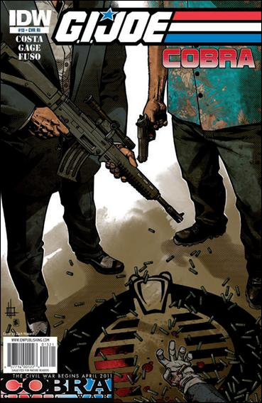 G.I. Joe: Cobra (2009) 13-B by IDW