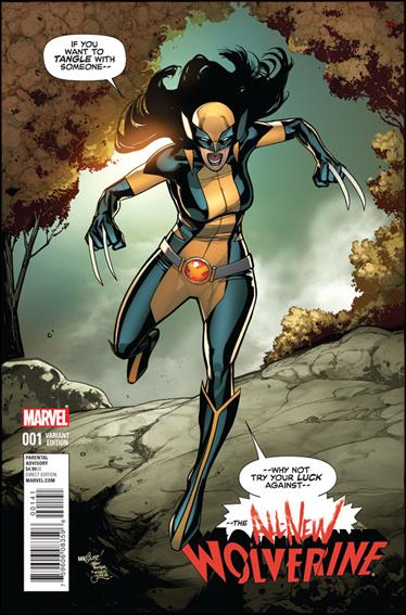 All-New Wolverine  1-B by Marvel