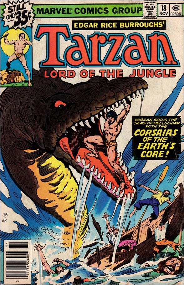 Tarzan (1977) 18-A by Marvel