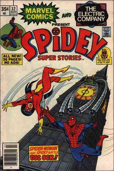 Spidey Super Stories 32-A by Marvel