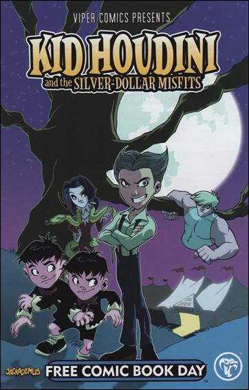 Viper Comics Presents, Kid Houdini & The Silver-Dollar Misfits 1-A by Viper Comics