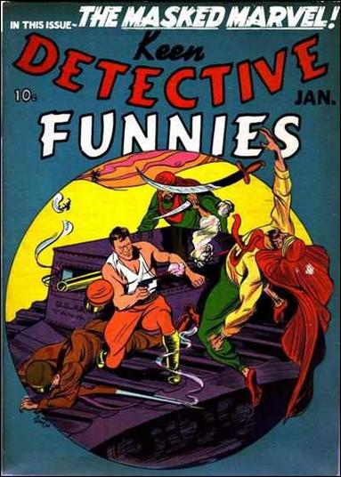 Keen Detective Funnies (1940) 1-A by Centaur Publications Inc.