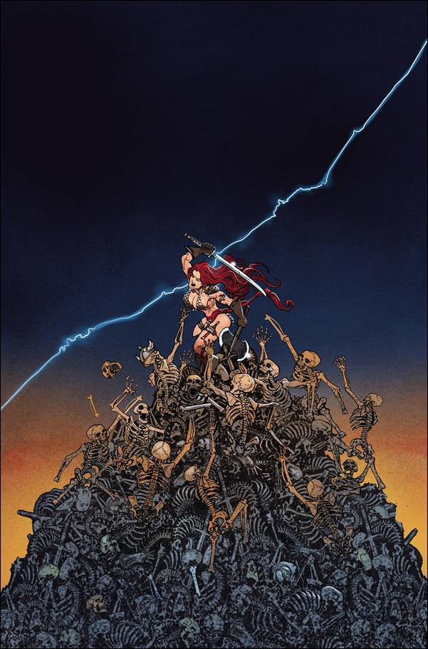 Invincible Red Sonja 4-J by Dynamite Entertainment