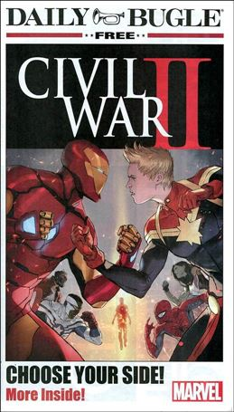 Civil War II Daily Bugle Newspaper 1-A