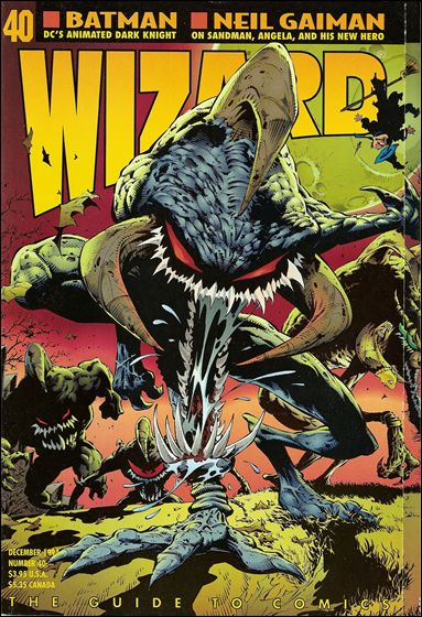 Wizard: The Guide to Comics 40-A by Wizard Press