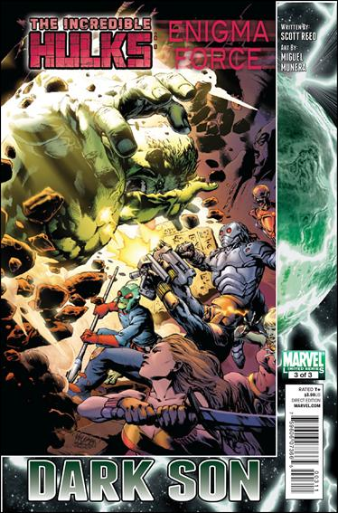 Incredible Hulks: Enigma Force 3-A by Marvel