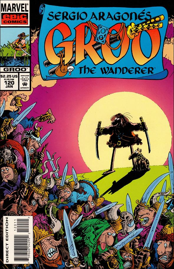Sergio Aragones Groo the Wanderer 120-A by Epic