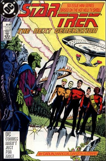 Star Trek: The Next Generation (1988) 6-A by DC