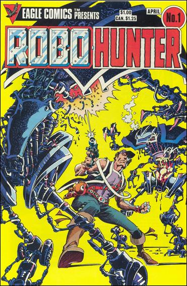 Robo-Hunter (1984) 1-A by Eagle