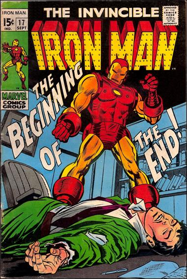 Iron Man (1968) 17-A by Marvel