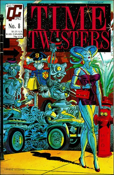 Time Twisters 8-A by Quality Comics