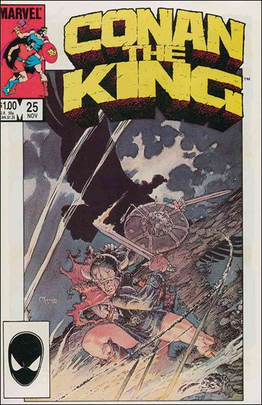 Conan the King 25-A by Marvel
