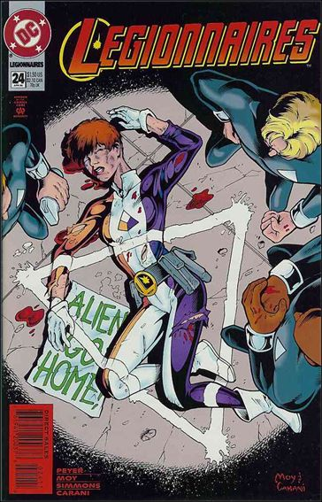 Legionnaires 24-A by DC