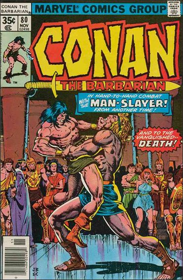 Conan the Barbarian (1970) 80-A by Marvel