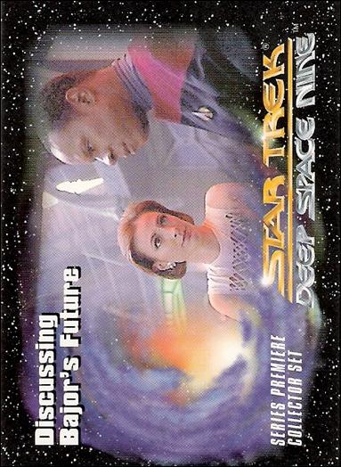 Star Trek: Deep Space Nine Series Premiere (Base Set) 7-A by SkyBox